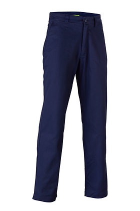 Endurite Men's Navy Cotton Drill Work Pants