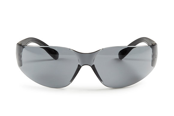 front view smoke lens safety glasses