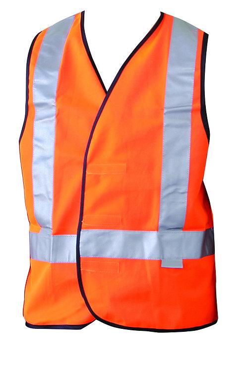 Hi-Vis H-Taped Safety Vest
