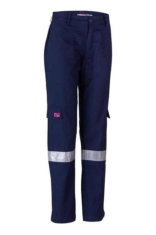 Women's Taped Cargo Pants - Regular Weight