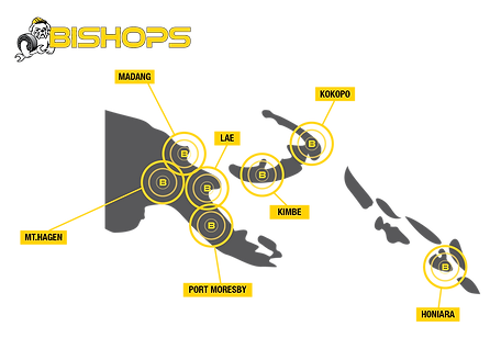 Bishops Warehouse Locations