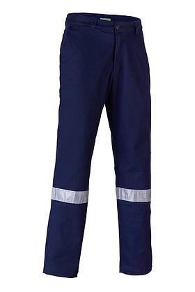 Endurite Men's Cotton Drill Taped Work Pants