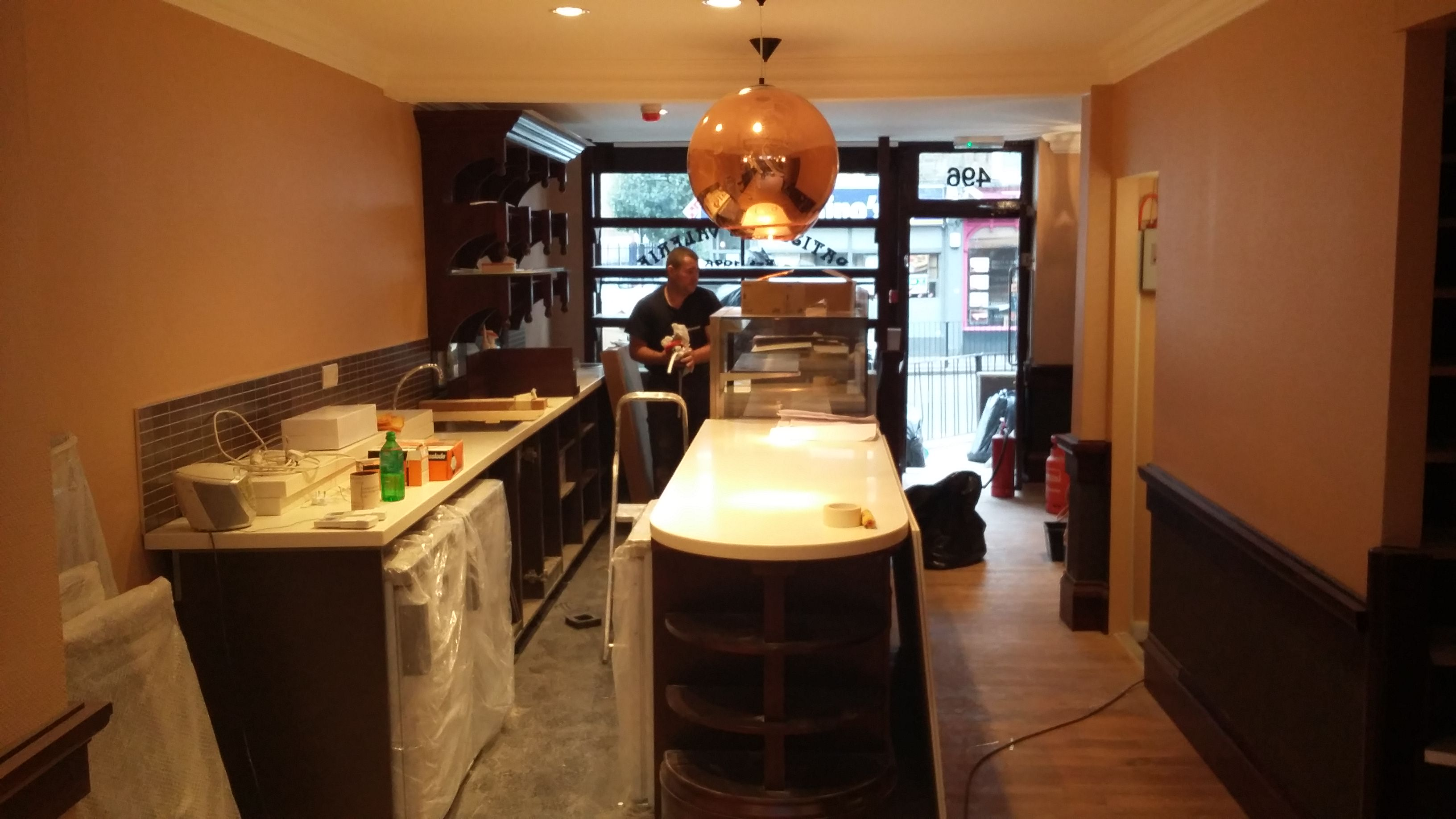 Shop Fitter Patisserie Valerie70