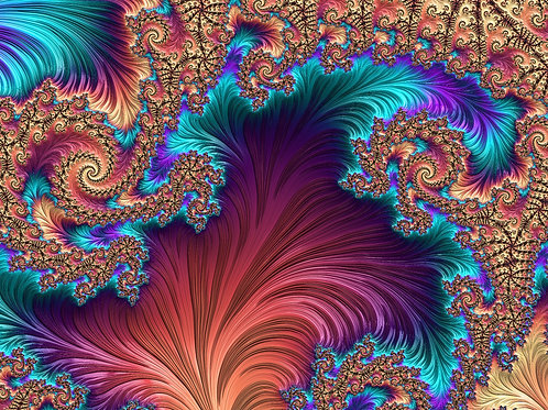 Peacock Feather-Fractal Download