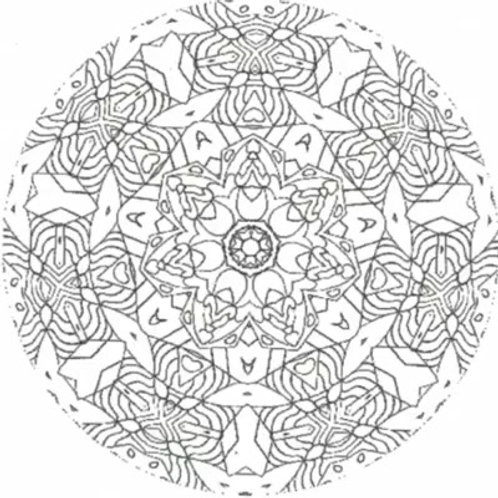 Kaleidoscope  CD Overlays - Pack 3