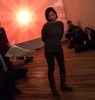 Gallery Talk at Vox Populi