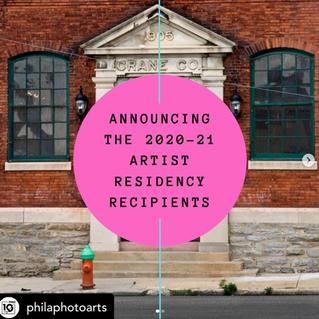 Phila Photo Arts Center Artist in Residence