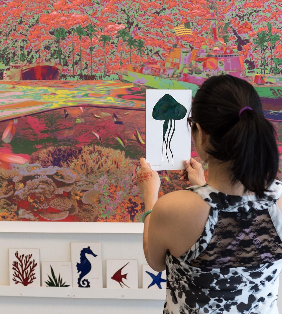 Kasaysayan sa pag-install ng RGB sa Asian Arts Initiative