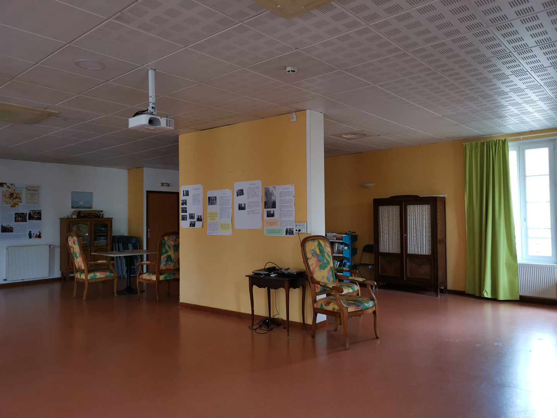 Salle d'animation