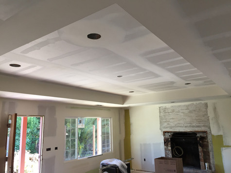 coffered ceiling redwood city