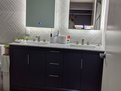 Moden Bathroom Remodel