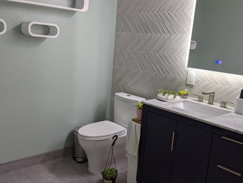 Full Bathroom Remodel in downtown San Jose