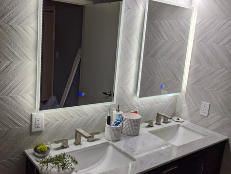 Full Bathroom Remodel in downtown San Jose