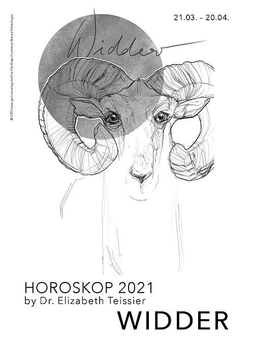 Horoskop Widder 2021