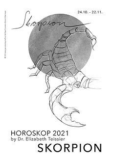 Horoskop Skorpion 2021