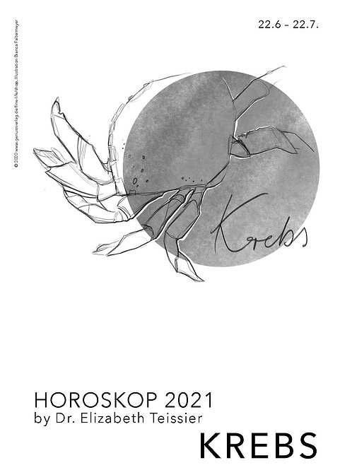 Horoskop Krebs 2021