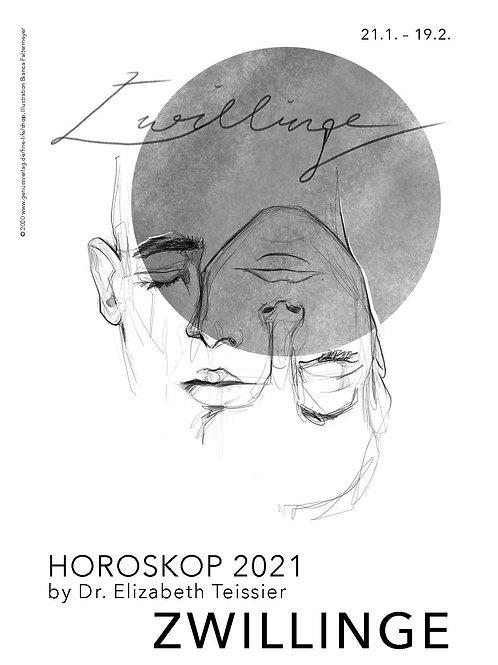 Horoskop Zwillinge 2021