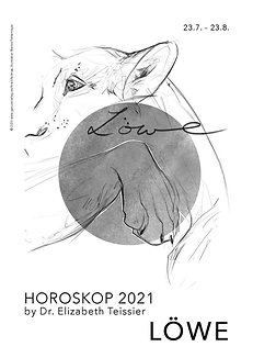 Horoskop Löwe 2021