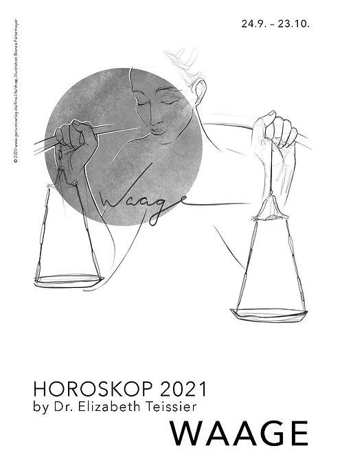 Horoskop Waage 2021
