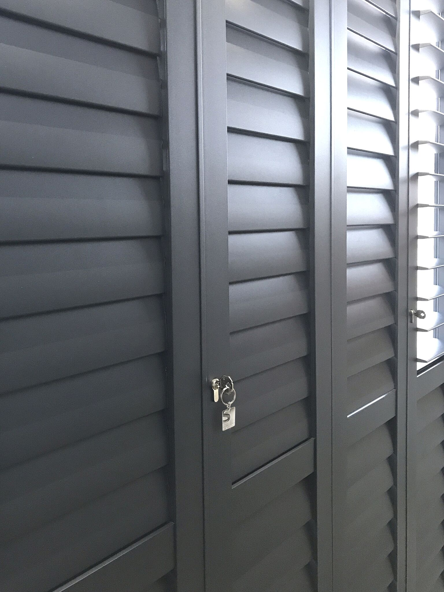Sercurity shutters