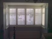 Square Bay Window Shutters
