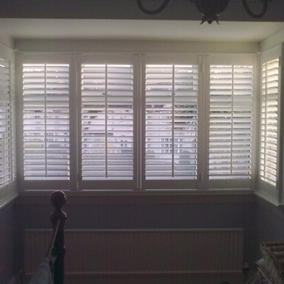 Square Bay Shutters