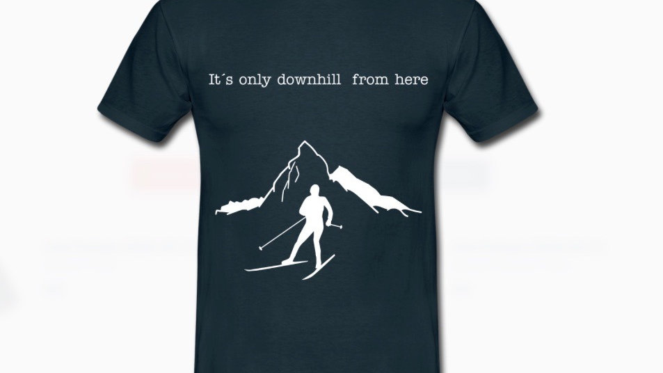 Shirt: downhill