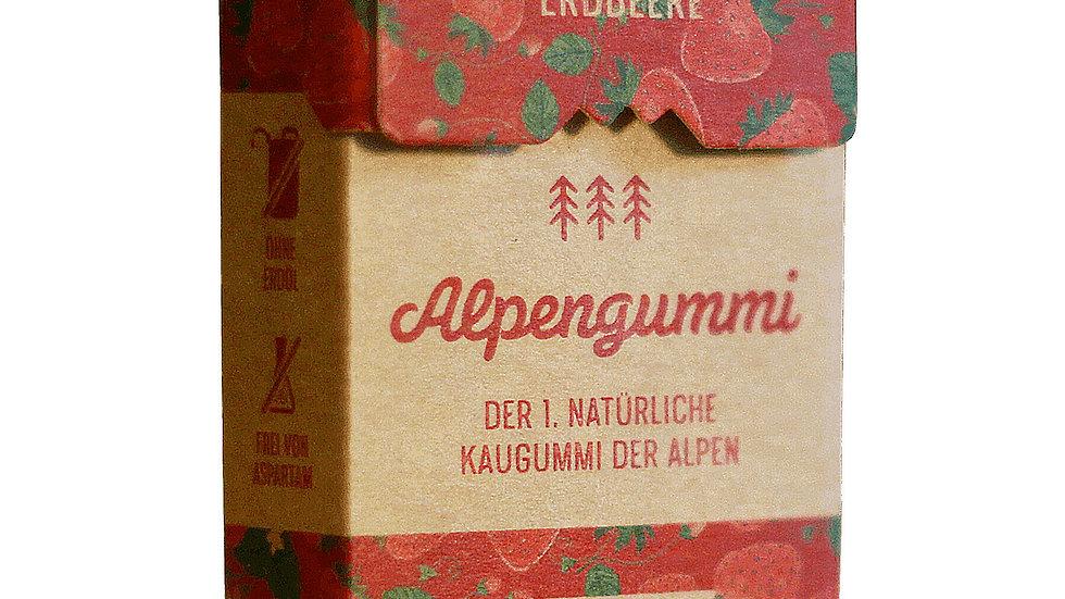 Erdbeer Kaugummi aus Harz