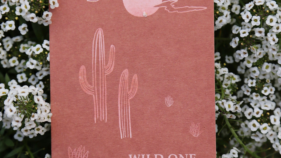 Postkarte: Wild one