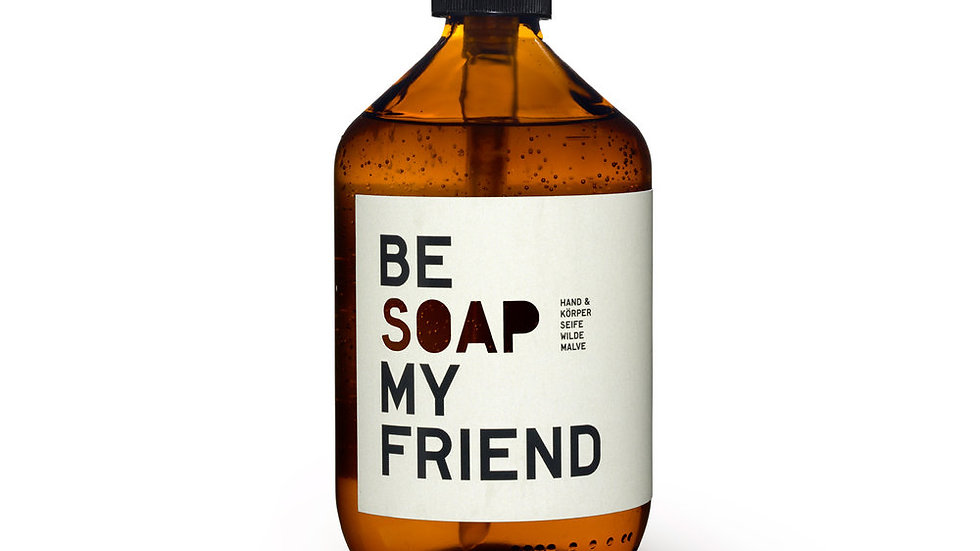 BE [SOAP] MY FRIEND