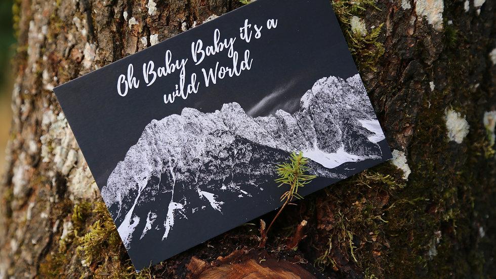 Oh baby- Postkarte