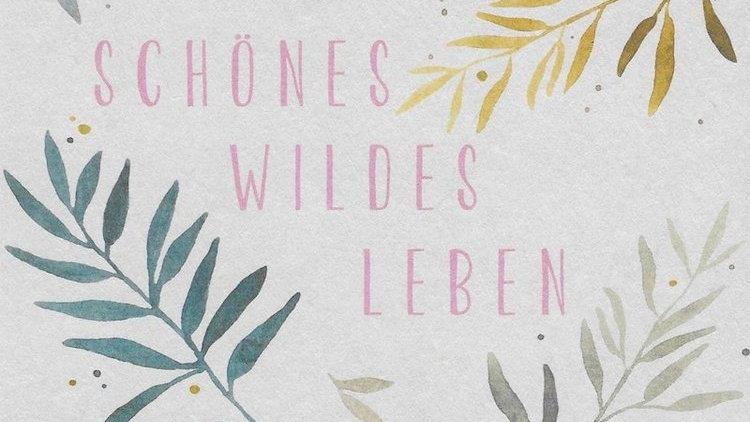 Postkarte: Wildes Leben