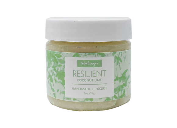 LIP SCRUB- COCONUT LIME (RESILIENT)