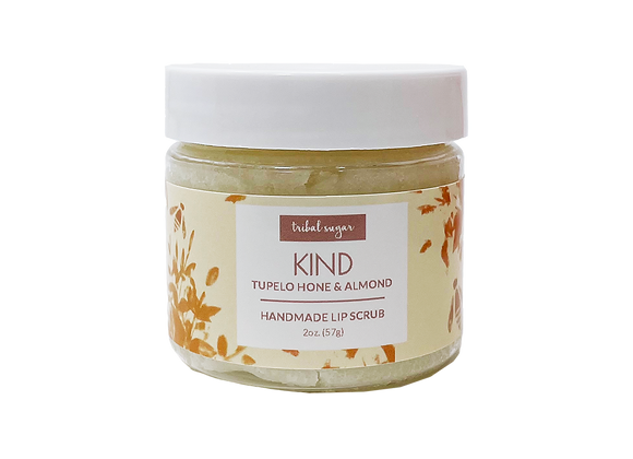 LIP SCRUB- TUPELO HONEY AND ALMOND (KIND)