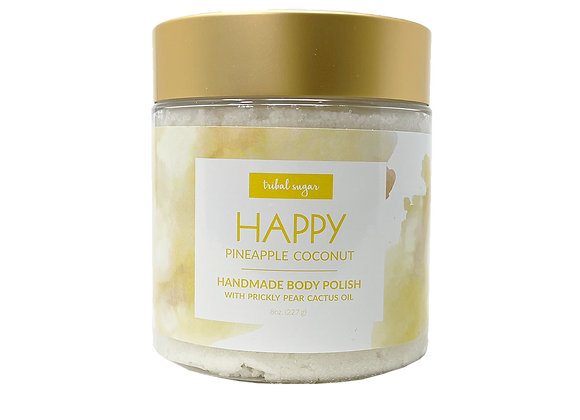 BODY POLISH - PINEAPPLE COCONUT (HAPPY)