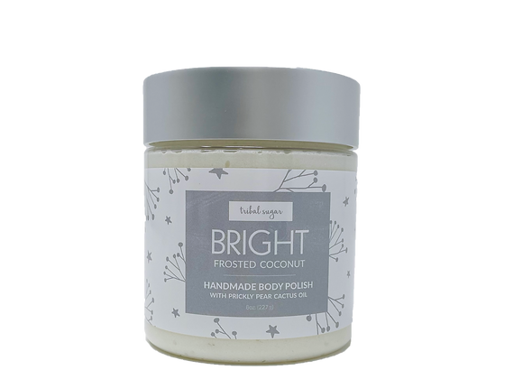 WHOLESALE BODY POLISH- FROSTED COCONUT (BRIGHT)