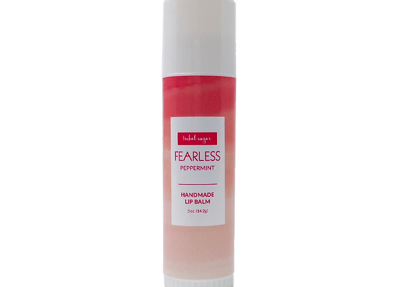 WHOLESALE JUMBO LIP BALM- PEPPERMINT (FEARLESS)