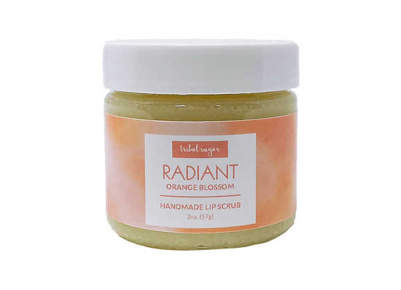 LIP SCRUB- ORANGE BLOSSOM (RADIANT)