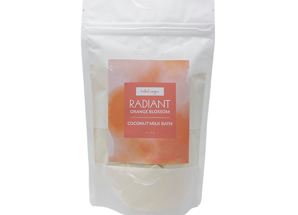 WHOLESALE COCONUT MILK BATH - ORANGE BLOSSOM (RADIANT)