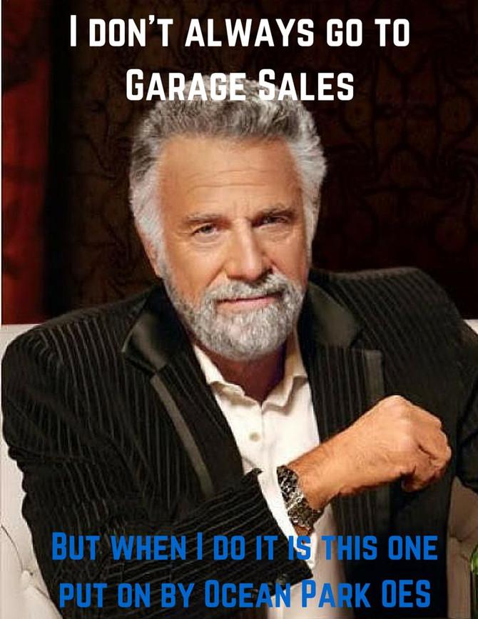 Save the Date! Ocean Park Garage Sale