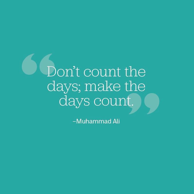 Don't count