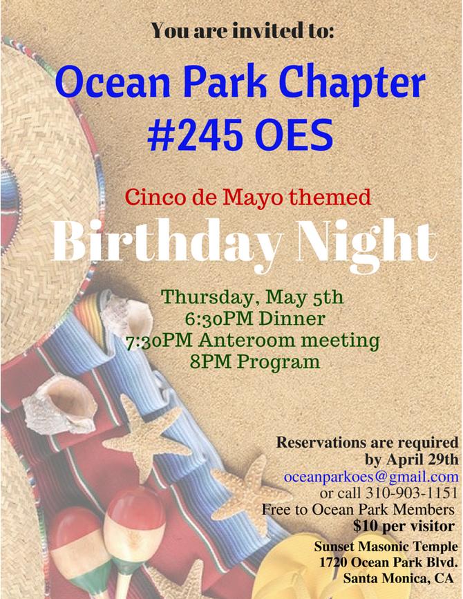 Ocean Park Birthday Night