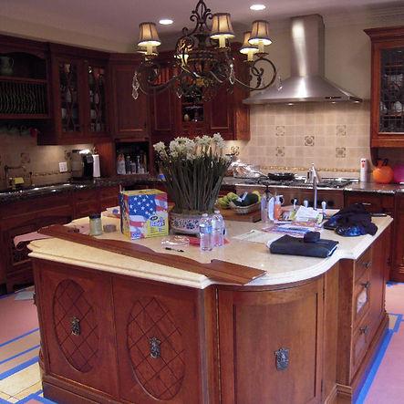 Kichen cabinet restoration