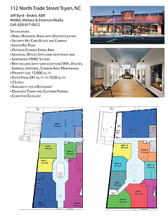112 North Trade Street Specifications v1