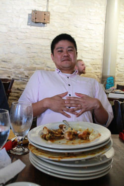 After buffet