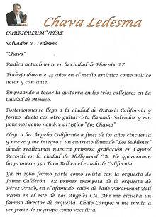 Biografía Chava Ledesma