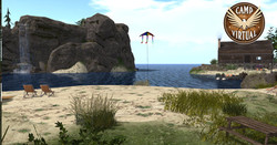 Swimming at the Beach