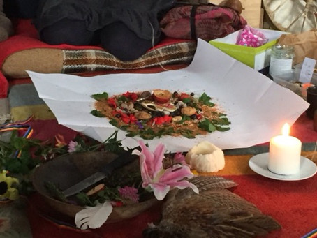 Despacho Ceremony for the Earthkeepers