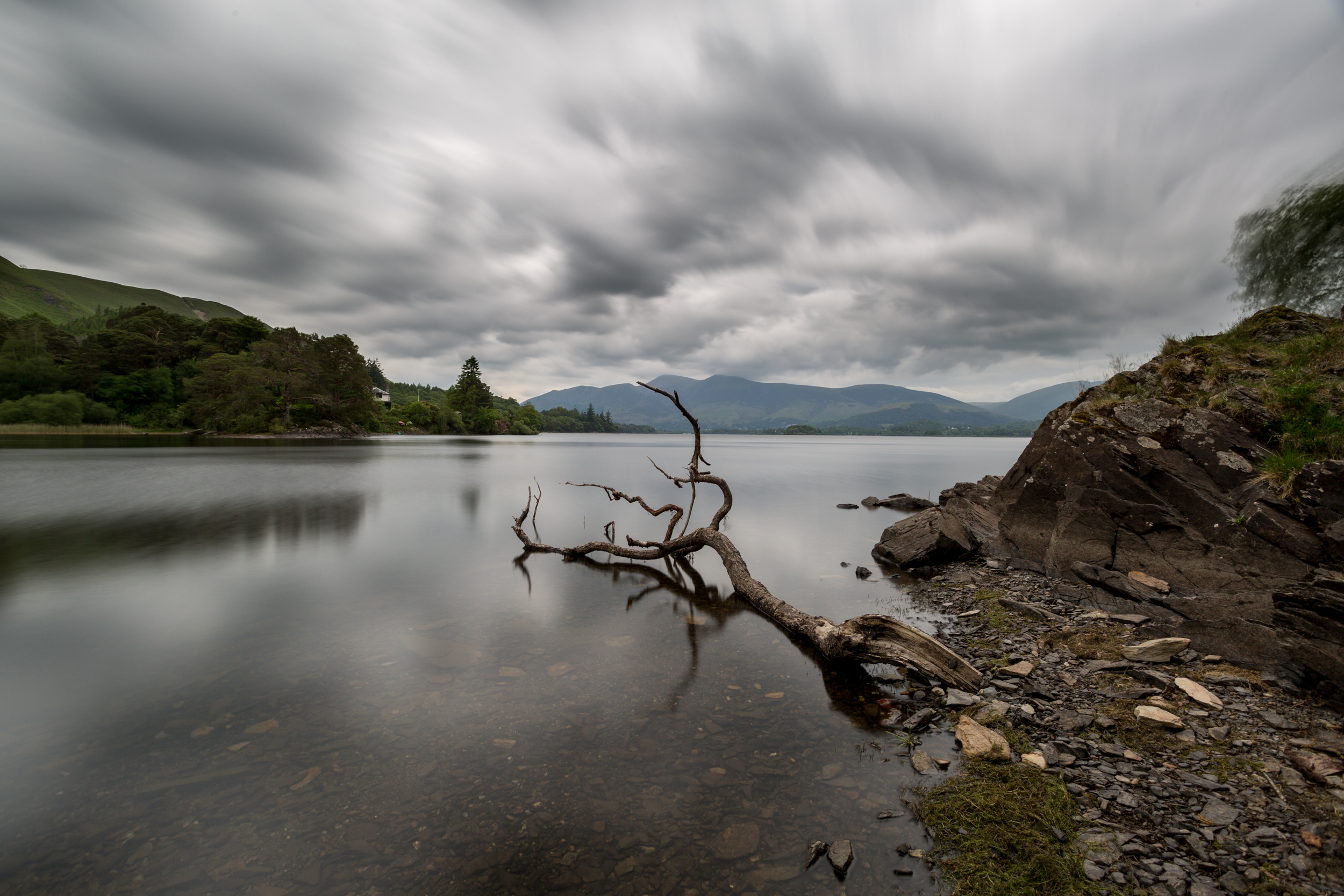 Derwent water in may-2