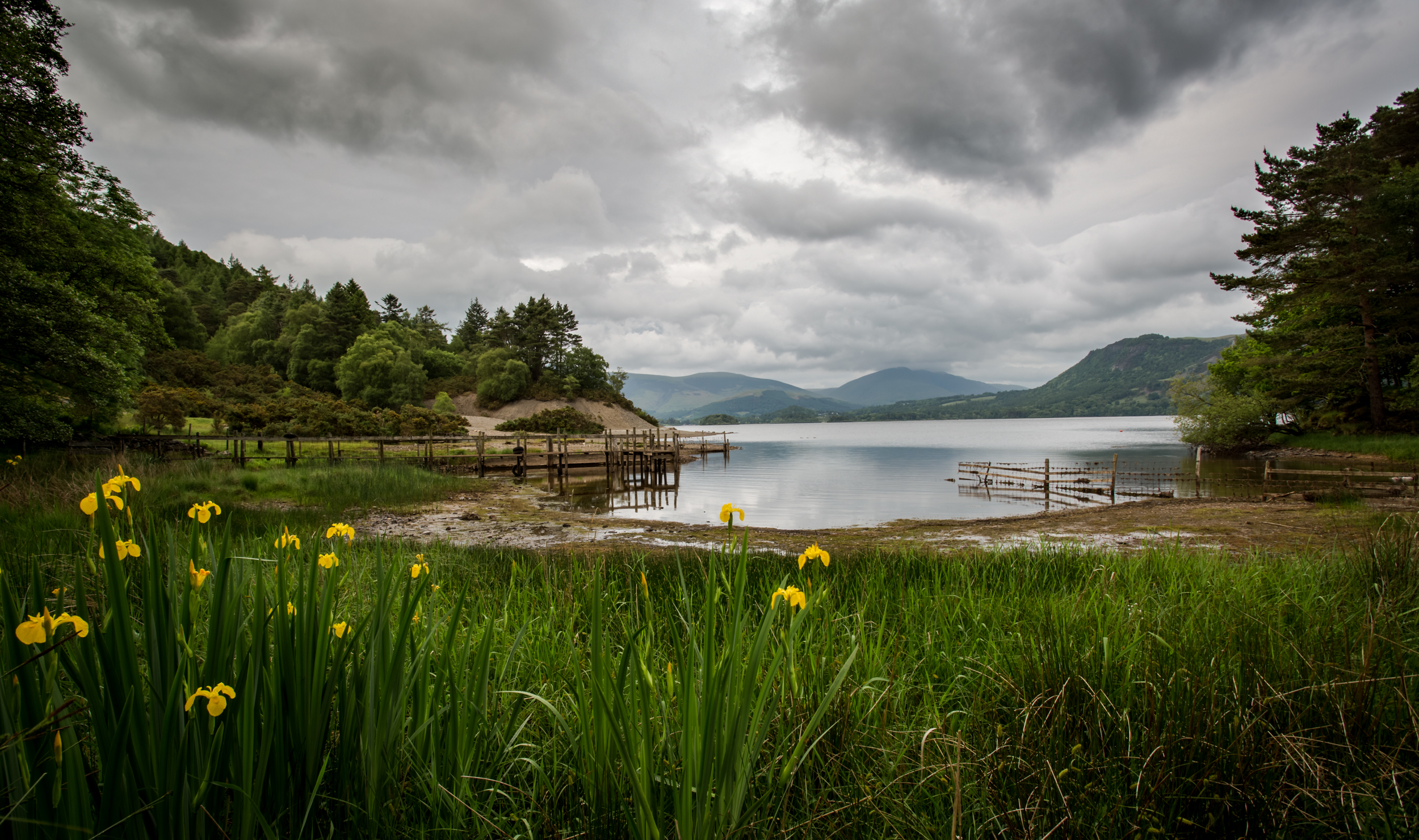 Derwent water in may-10